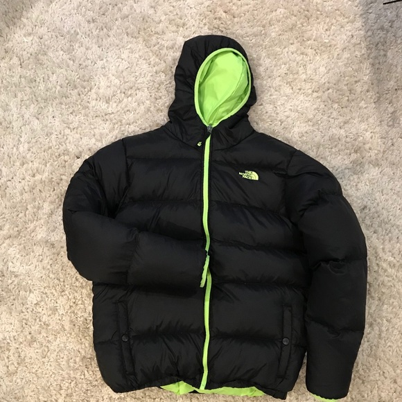 114b54678 Boys North Face Moondoggy reversible down jacket